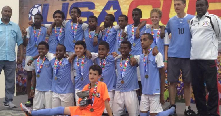 SAYEC U13 2015 USA CUP CHAMPIONS